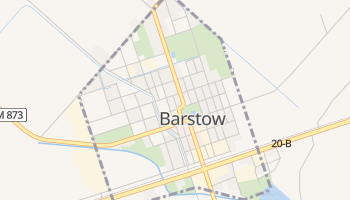 Barstow, Texas map
