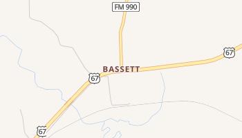 Bassett, Texas map