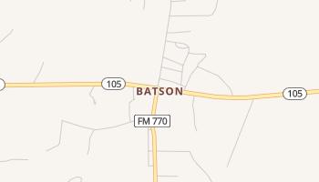 Batson, Texas map