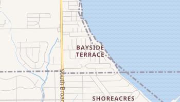 Bayside Terrace, Texas map