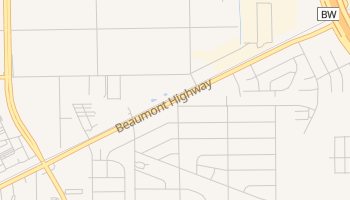 Beaumont Place, Texas map