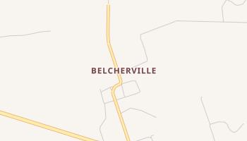 Belcherville, Texas map