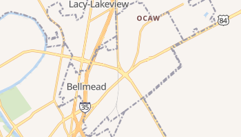 Bellmead, Texas map