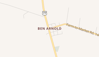Ben Arnold, Texas map