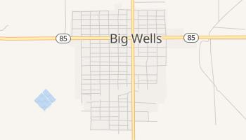 Big Wells, Texas map
