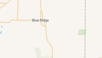 Blue Ridge, Texas map