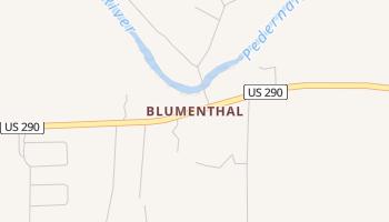 Blumenthal, Texas map