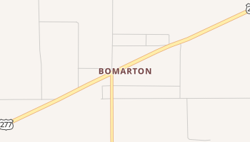 Bomarton, Texas map