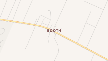 Booth, Texas map