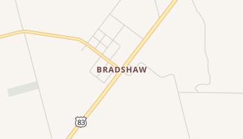 Bradshaw, Texas map