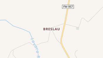 Breslau, Texas map