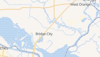Bridge City, Texas map