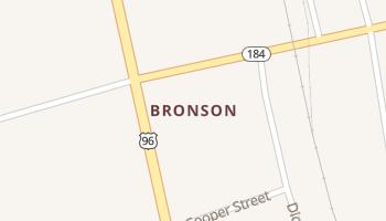 Bronson, Texas map