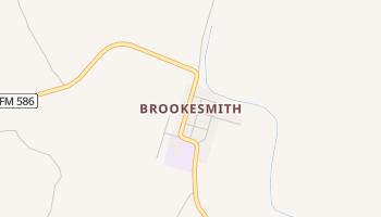 Brookesmith, Texas map