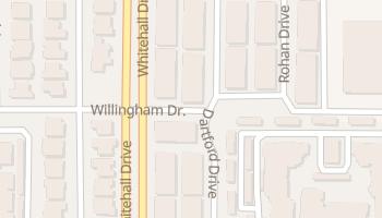 Buckingham, Texas map