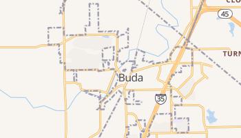 Buda, Texas map