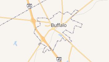 Buffalo, Texas map