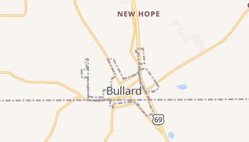 Bullard, Texas map