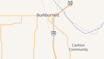Burkburnett, Texas map