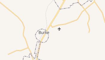 Burke, Texas map