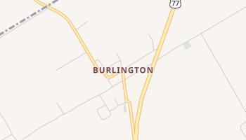 Burlington, Texas map