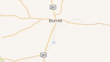 Burnet, Texas map