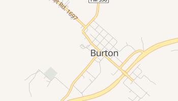 Burton, Texas map