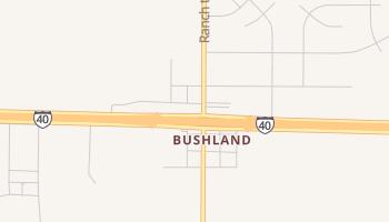 Bushland, Texas map