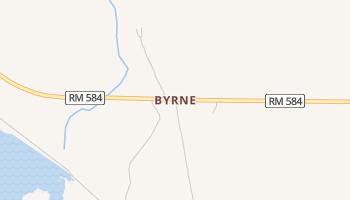 Byrne, Texas map