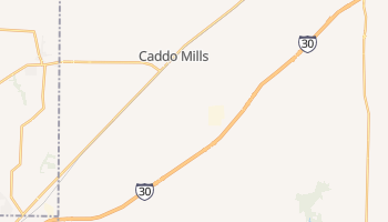Caddo Mills, Texas map