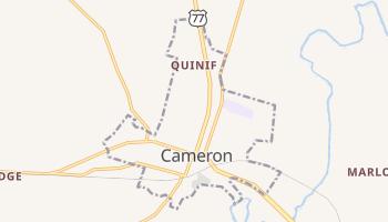 Cameron, Texas map