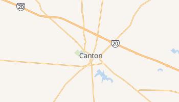 Canton, Texas map