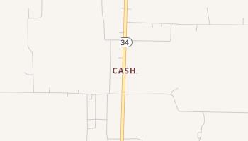 Cash, Texas map