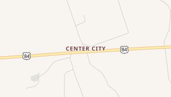 Center City, Texas map