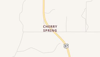 Cherry Spring, Texas map