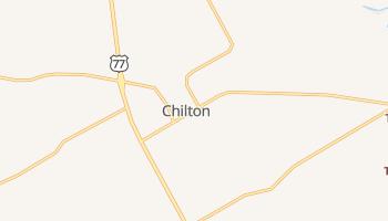 Chilton, Texas map