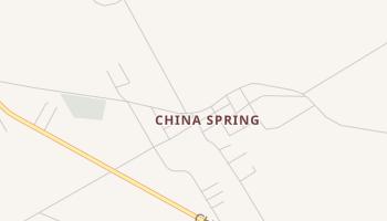 China Springs, Texas map