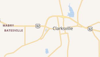 Clarksville, Texas map