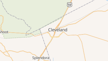 Cleveland, Texas map
