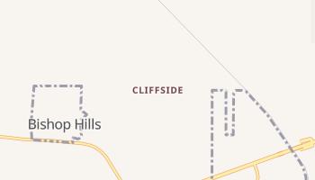 Cliffside, Texas map