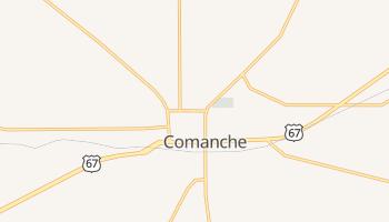 Comanche, Texas map