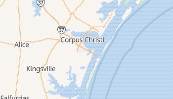 Corpus Christi, Texas map