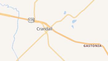 Crandall, Texas map