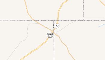 Cresson, Texas map