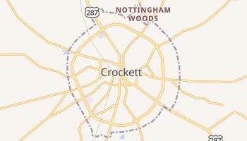 Crockett, Texas map