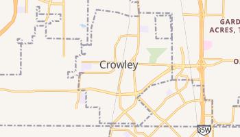 Crowley, Texas map