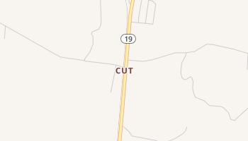 Cut, Texas map