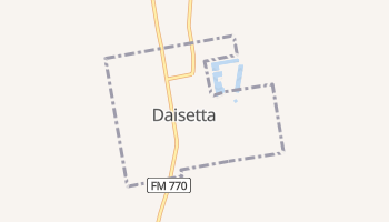 Daisetta, Texas map