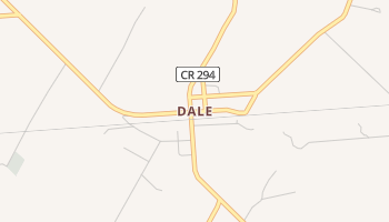 Dale, Texas map