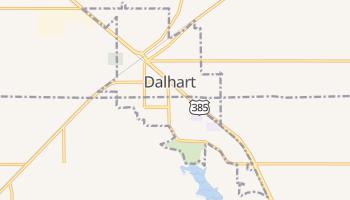 Dalhart, Texas map